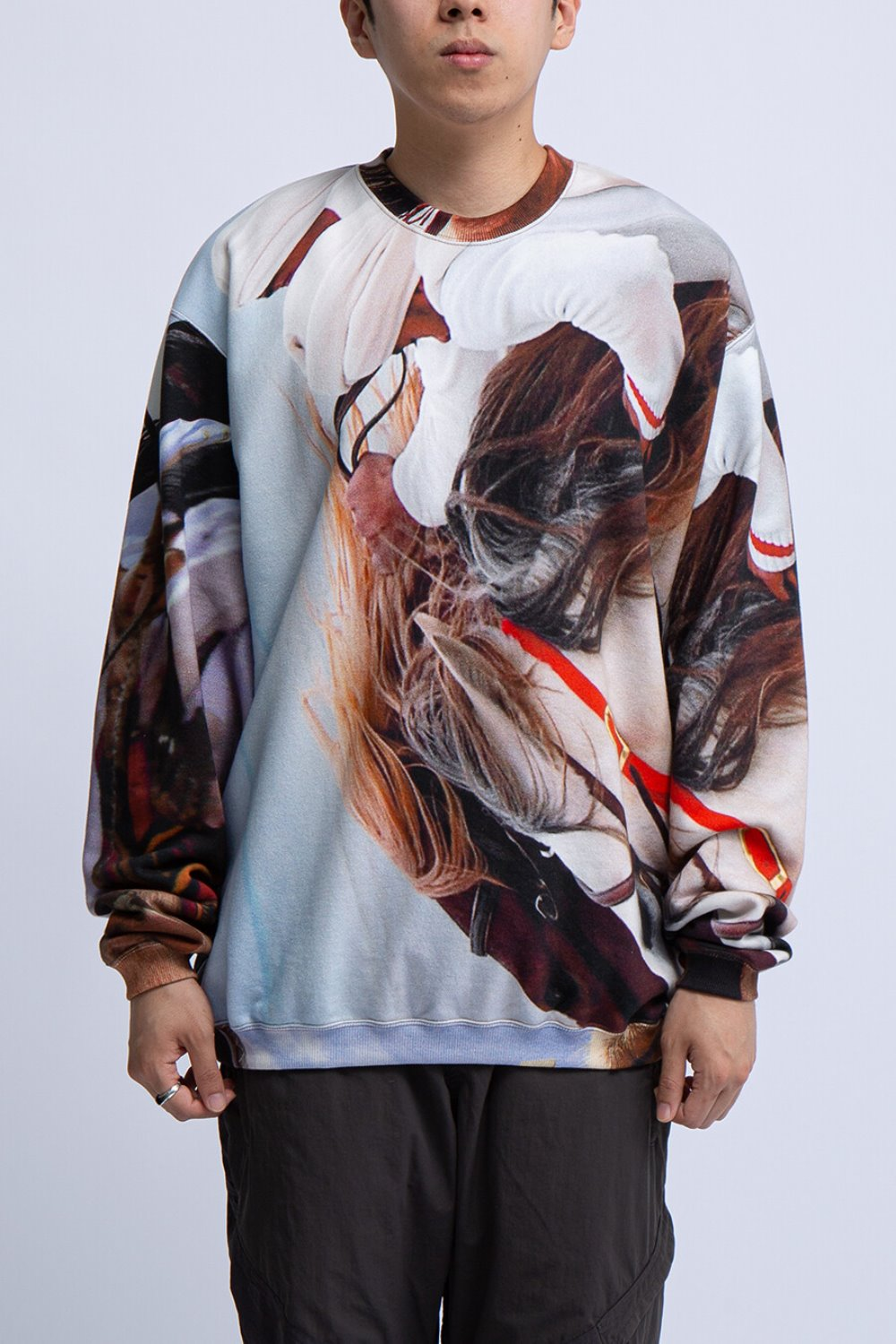 NOMADS CREW SWEAT SHIRT(BAL-1888) MULTI