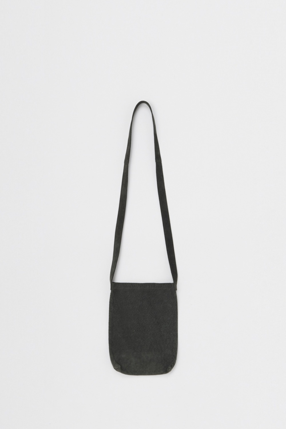 DE-RB-PSS SHOULDER BAG PIG LEATHER SMALL DARK GREY