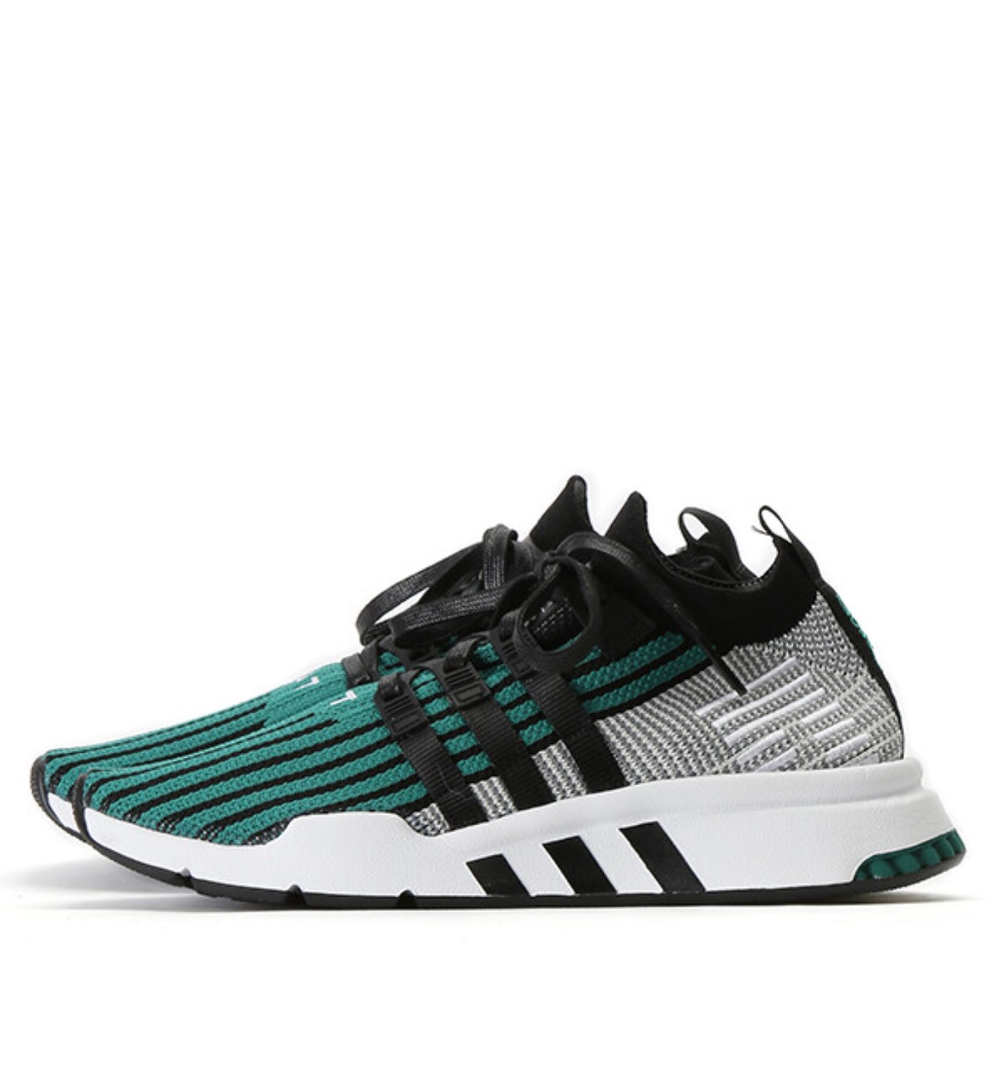 EQT SUPPORT MID ADV PK BLACK/GREEN (CQ2998)