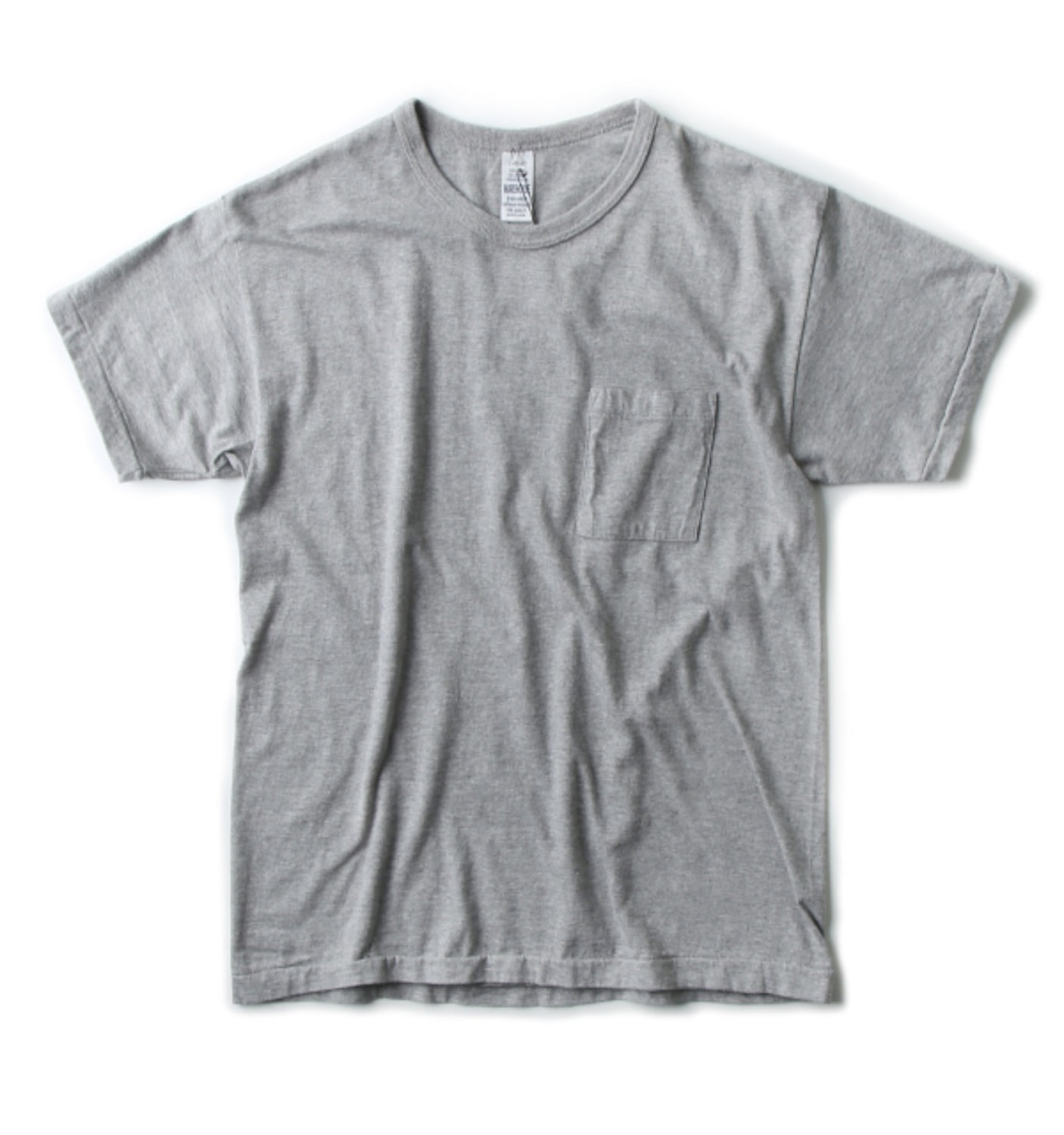LOT 4065 PATCH POCKET T GREY