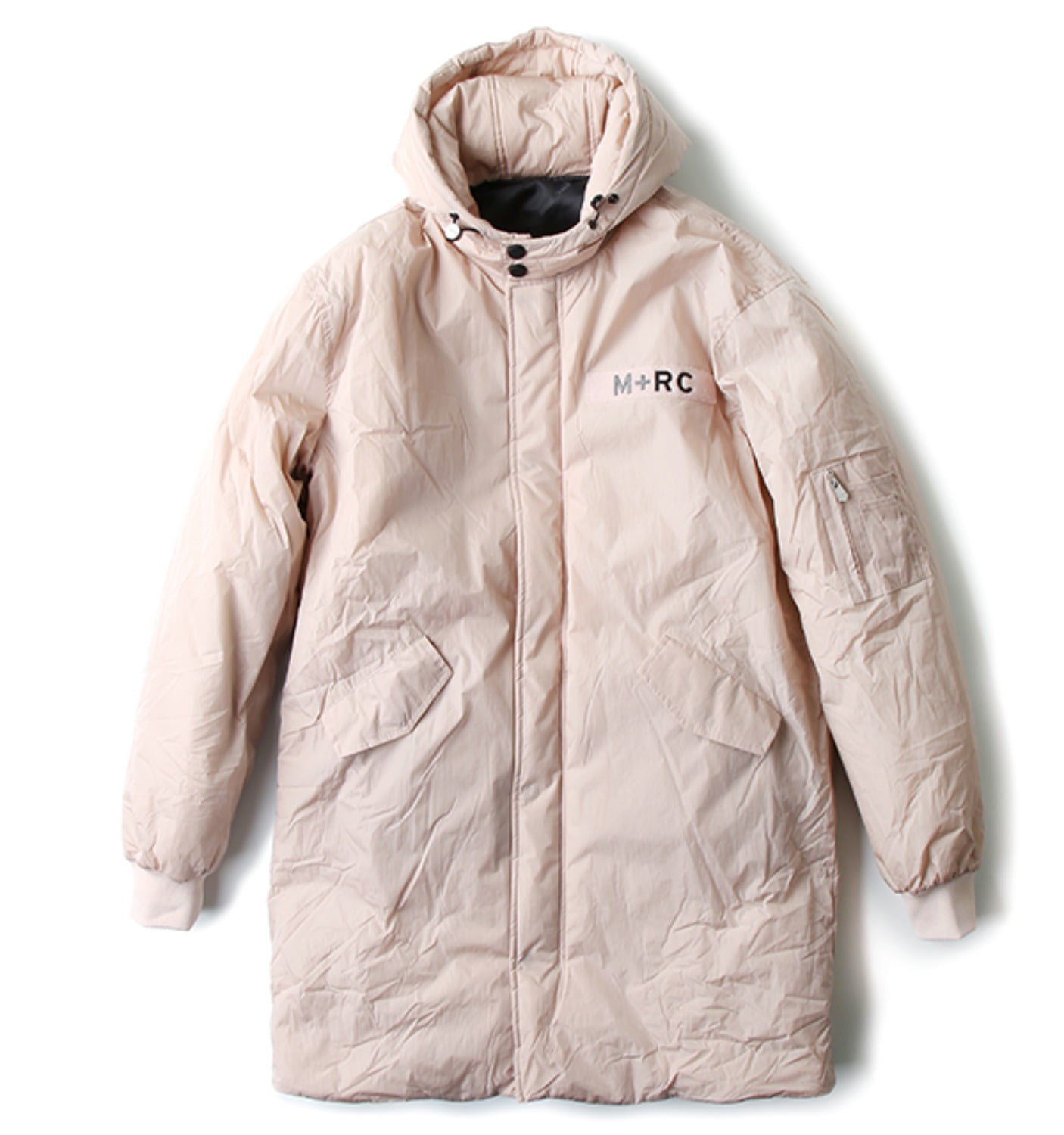 ROSE PARKA JACKET REFLECTIVE LOGO