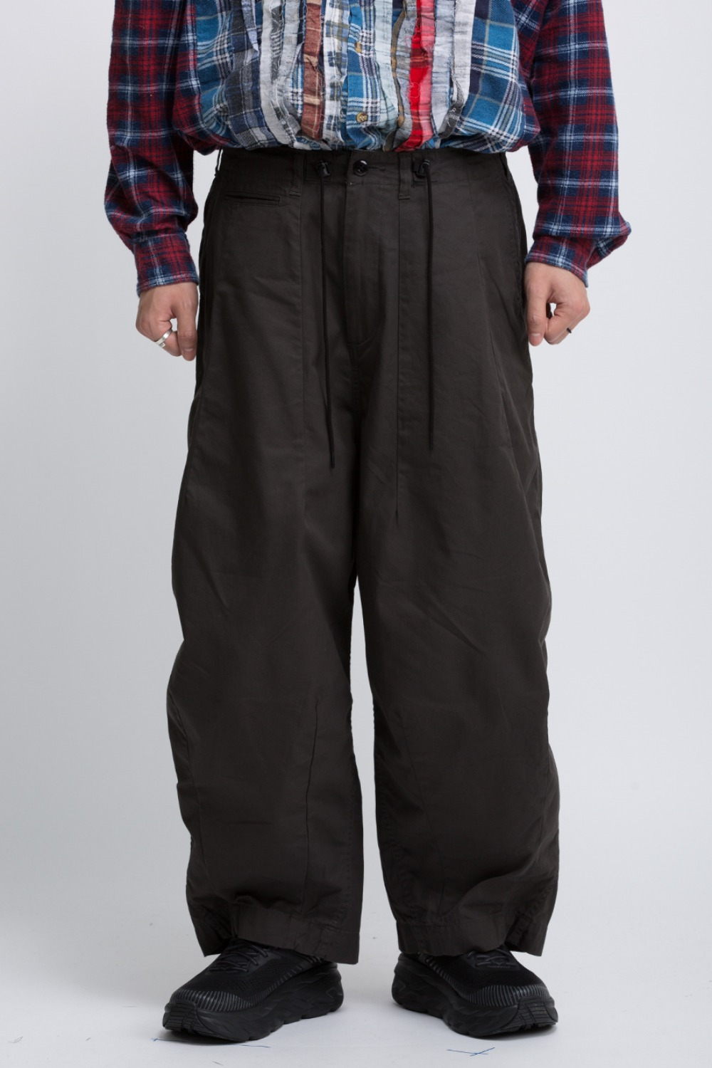 H.D. PANT MILITARY CHARCOAL