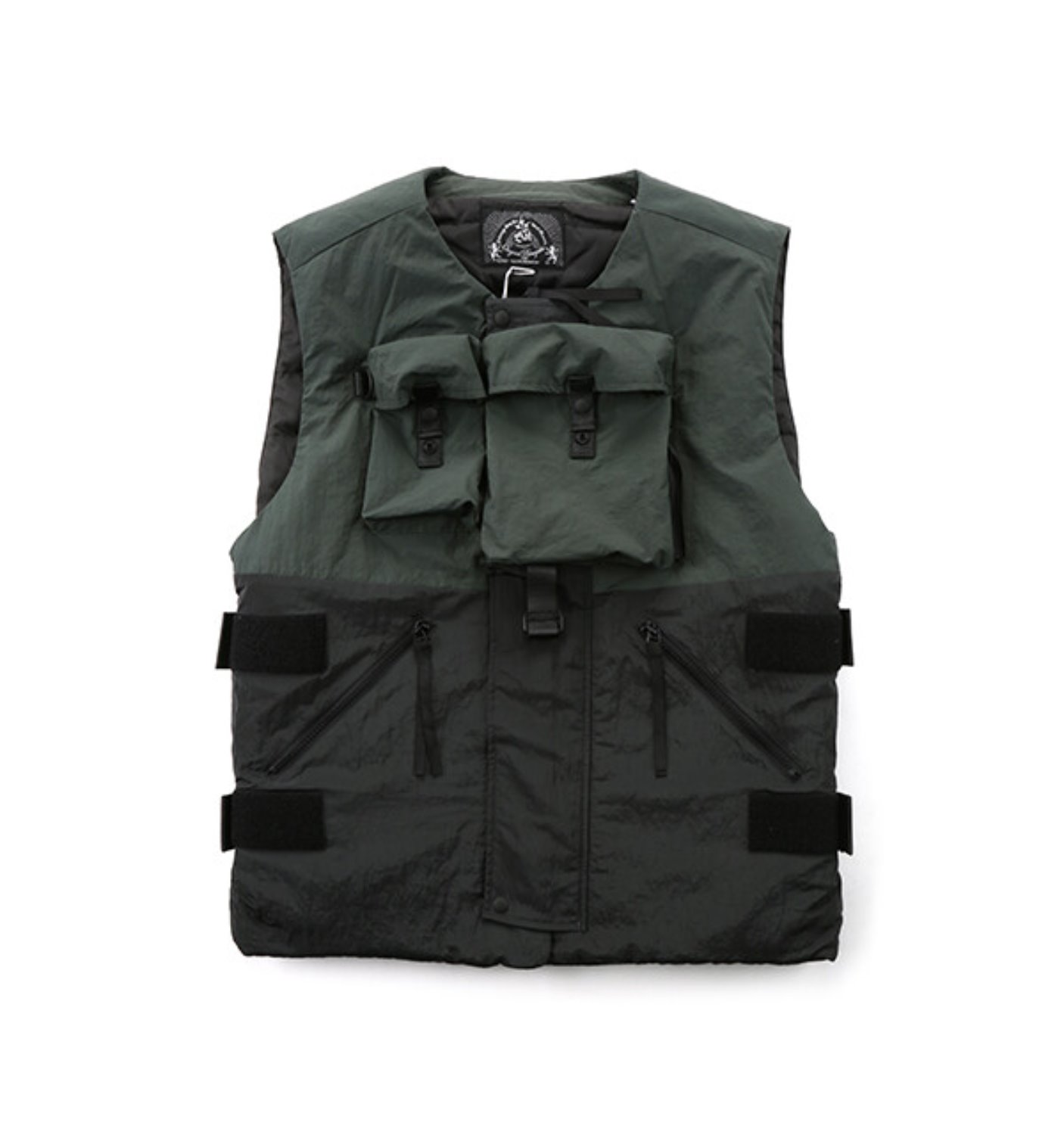 BODY ARMOUR DOWN VEST SMOKY BLACK