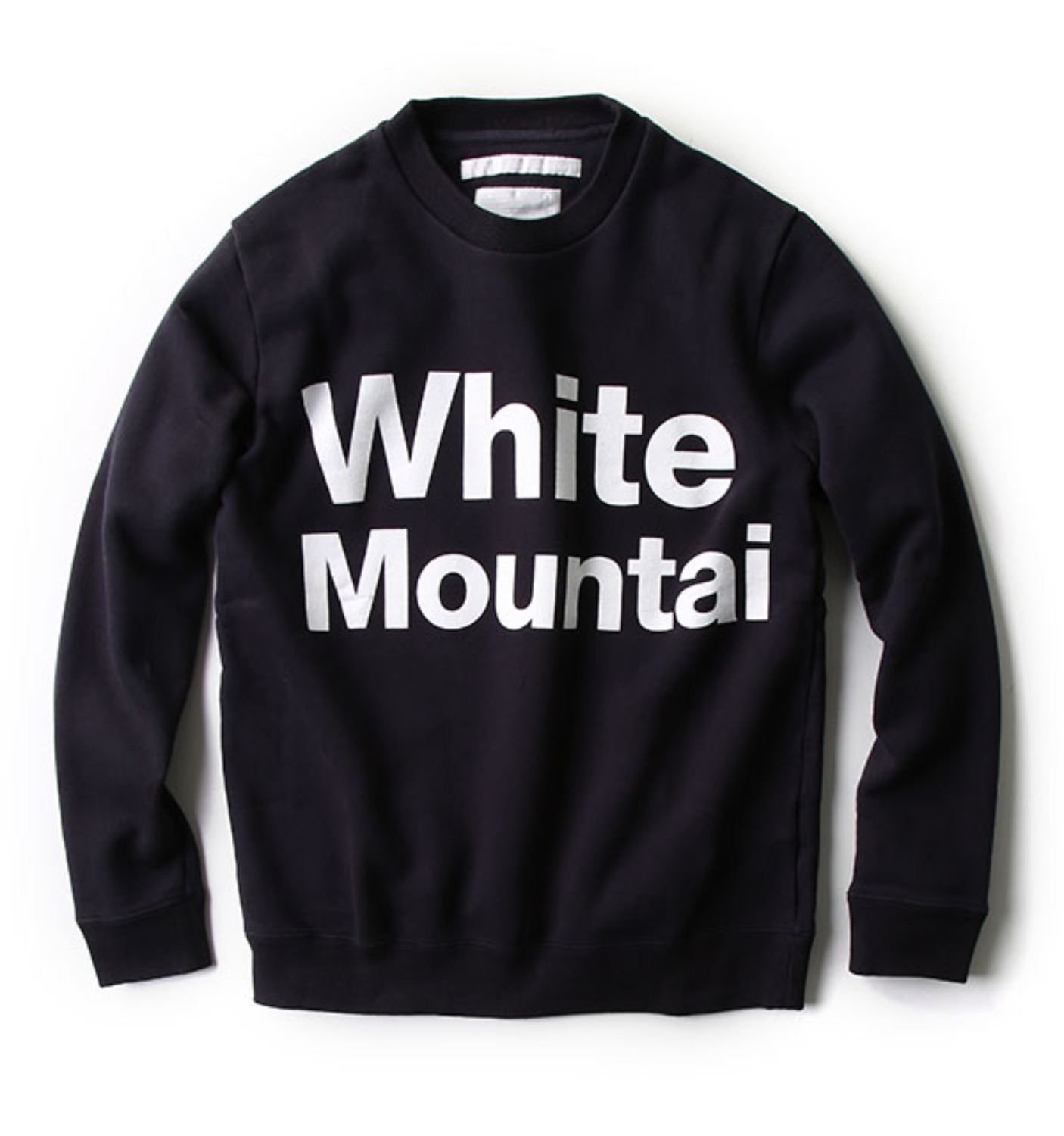 PRINTED LOGO SWEATSHIRT NAVY (WM1673528)