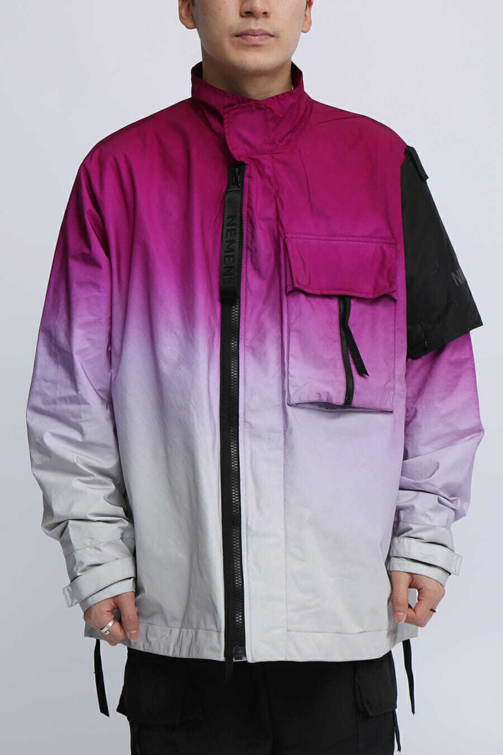 WOVEN ZEPHYR 3L JACKET DIPPING PURPLE