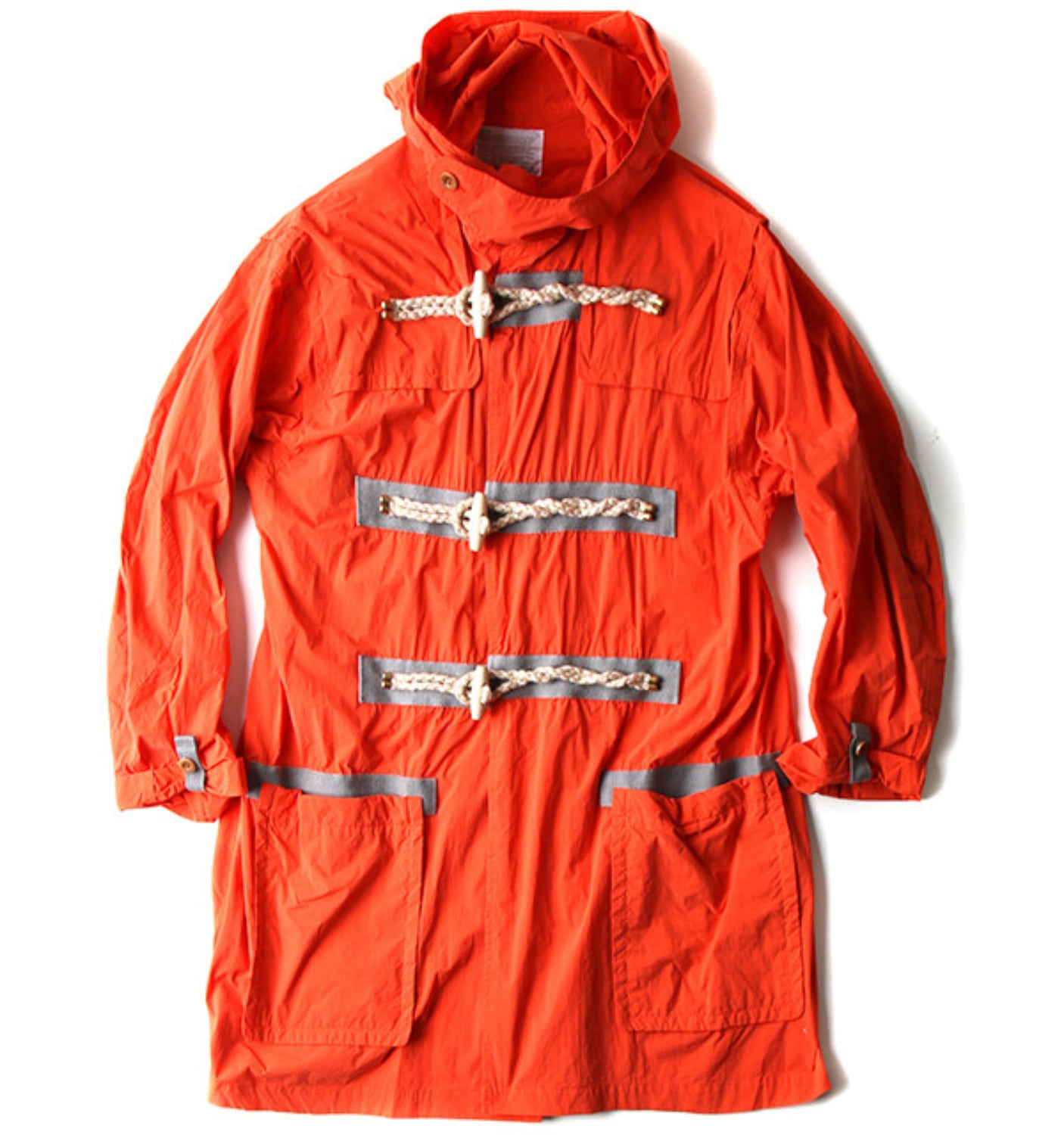 KOLOR DUFFLE COAT ORANGE (18SCMC03106)