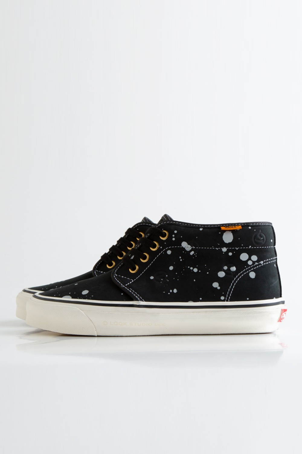 OG Chukka Boot LX(LQQK STUDIO) circle V/splatter black