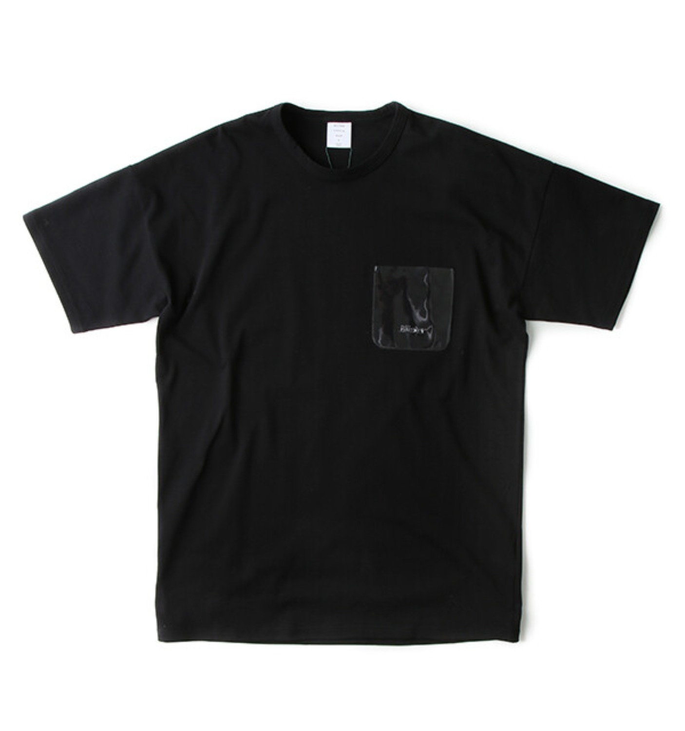 VINYL POCKET MODERN TEE BLACK(MGM-CS02)