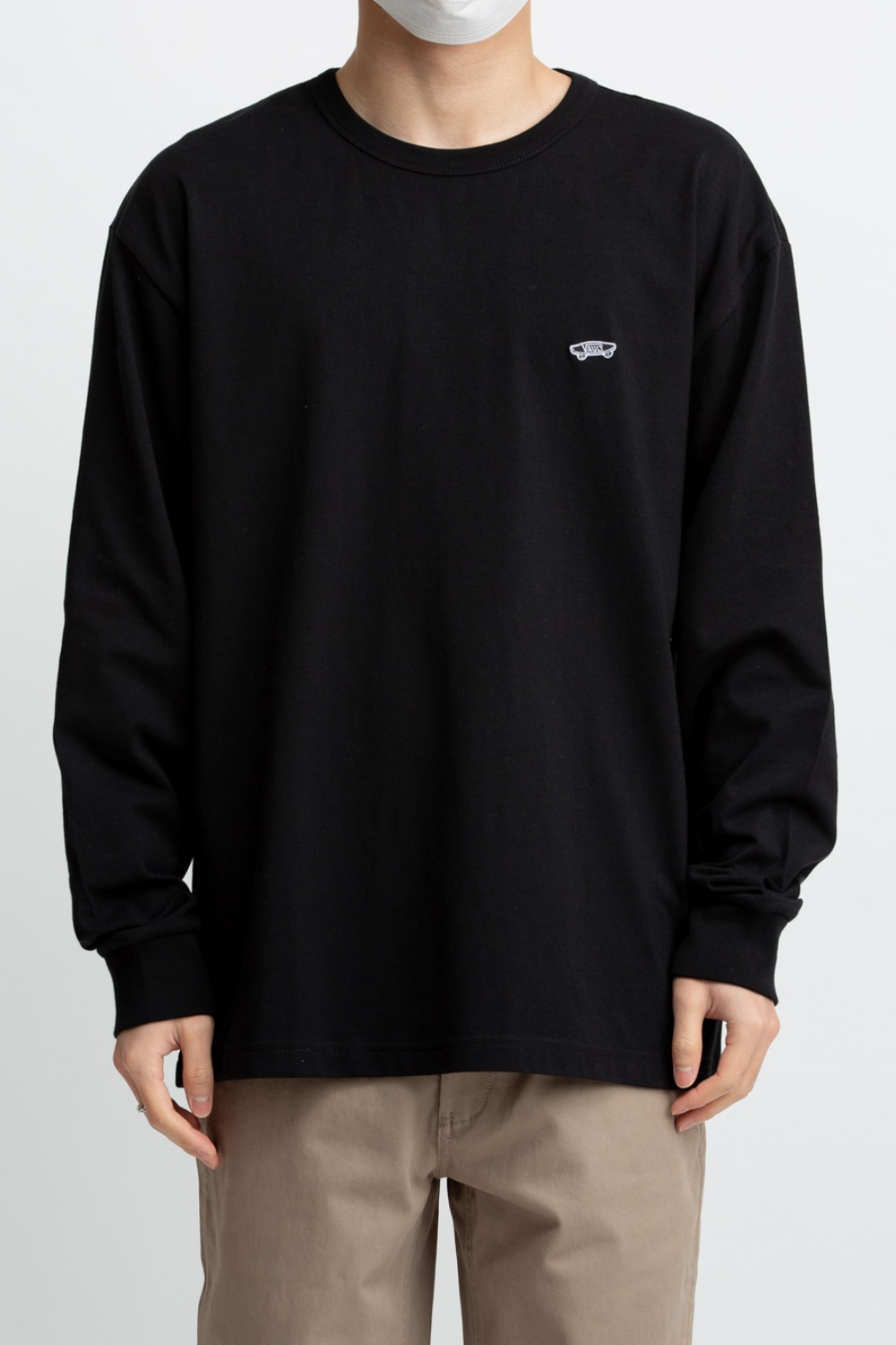 VAULT OG LS T-SHIRT BLACK