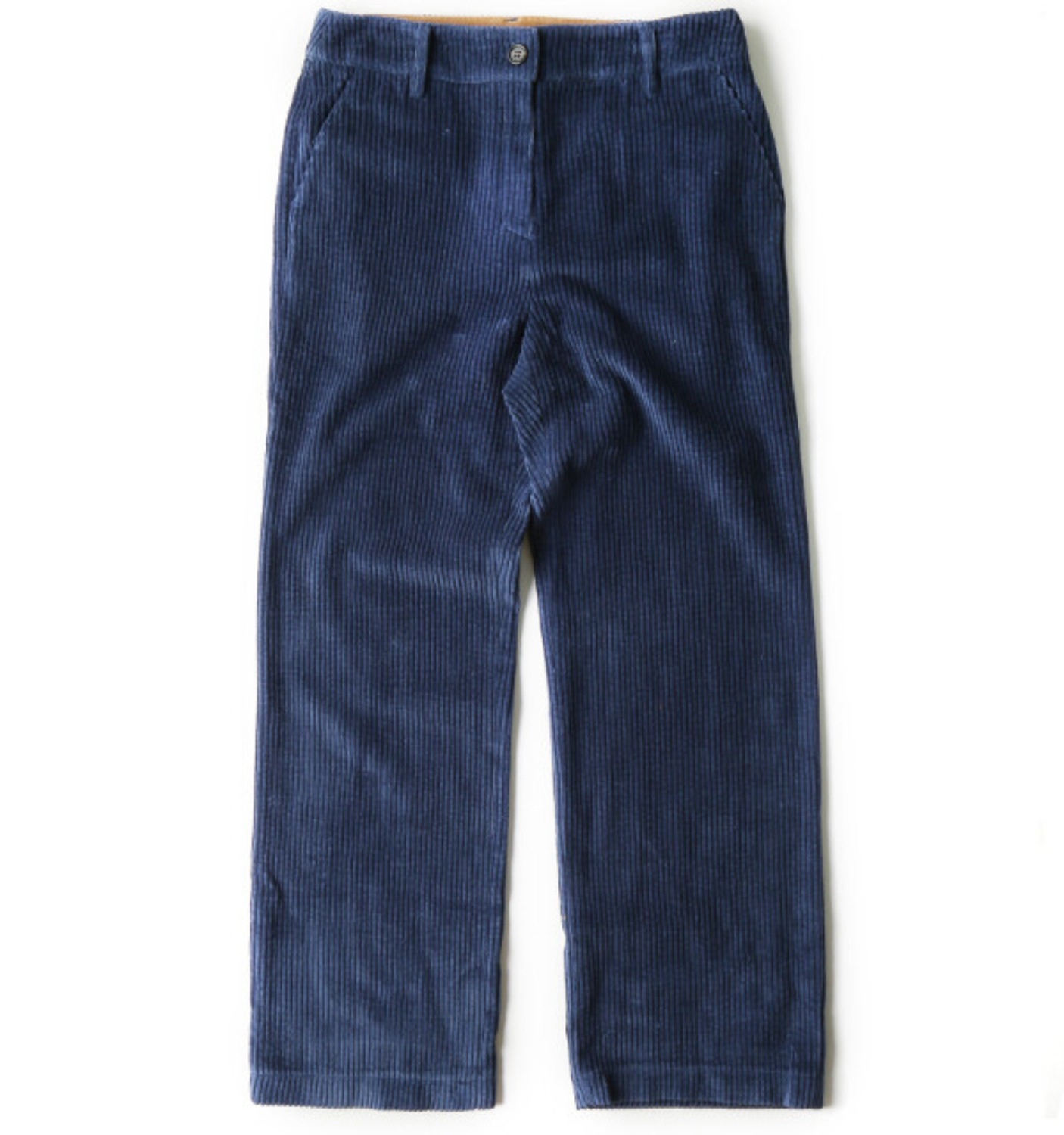 CORDUROY STRAIGHT PANTS(NPA06008A) BLUE