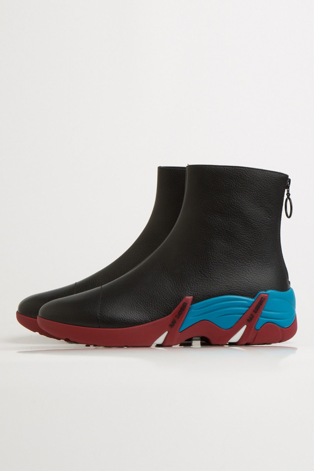 CYLON 202-986 LEATHER BLACK/BLUE/RED