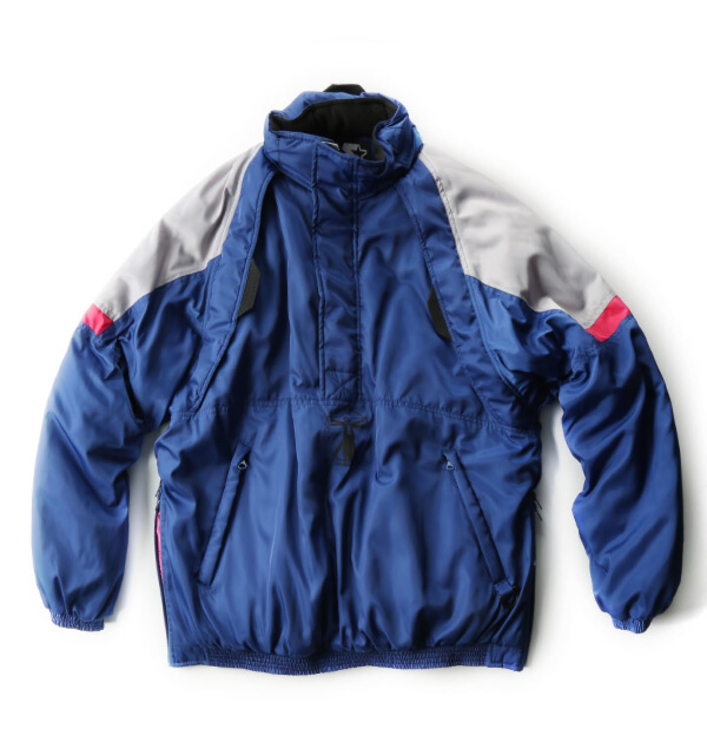 × STARTER BLACK LABEL PULLOVER JACKET BLUE