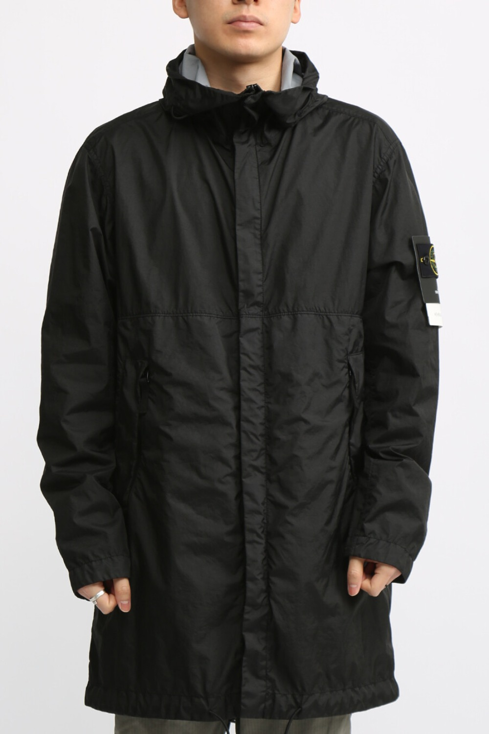 MEMBRANA 3L TC FISHTAIL PARKA BLACK