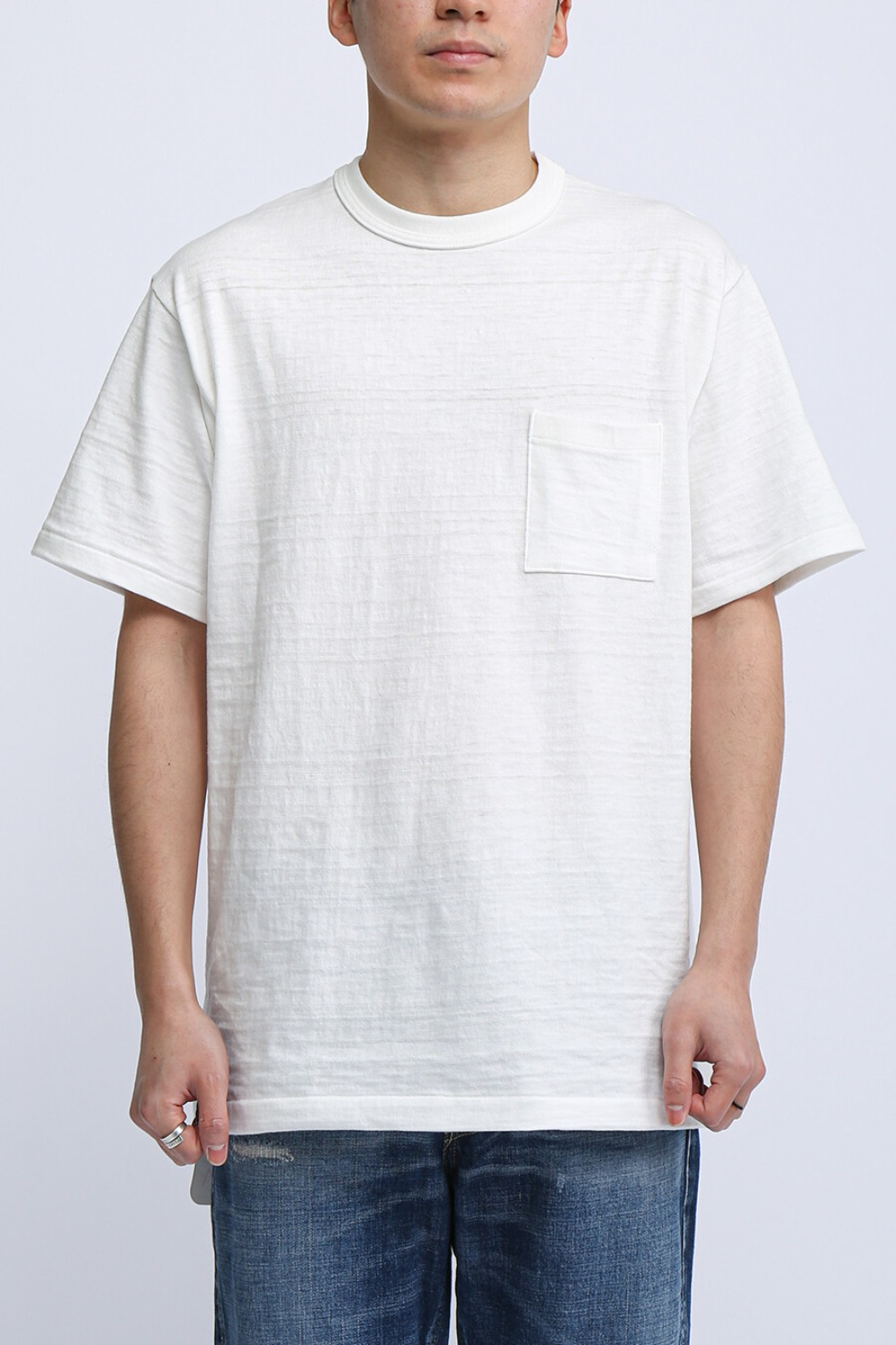 LOT 4601 POCKET T-SHIRT WHITE