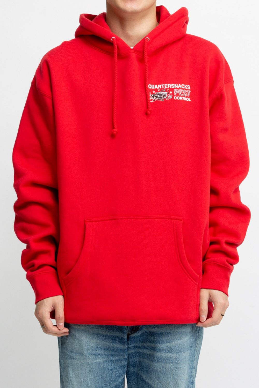 PEST CONTROL HOODY RED