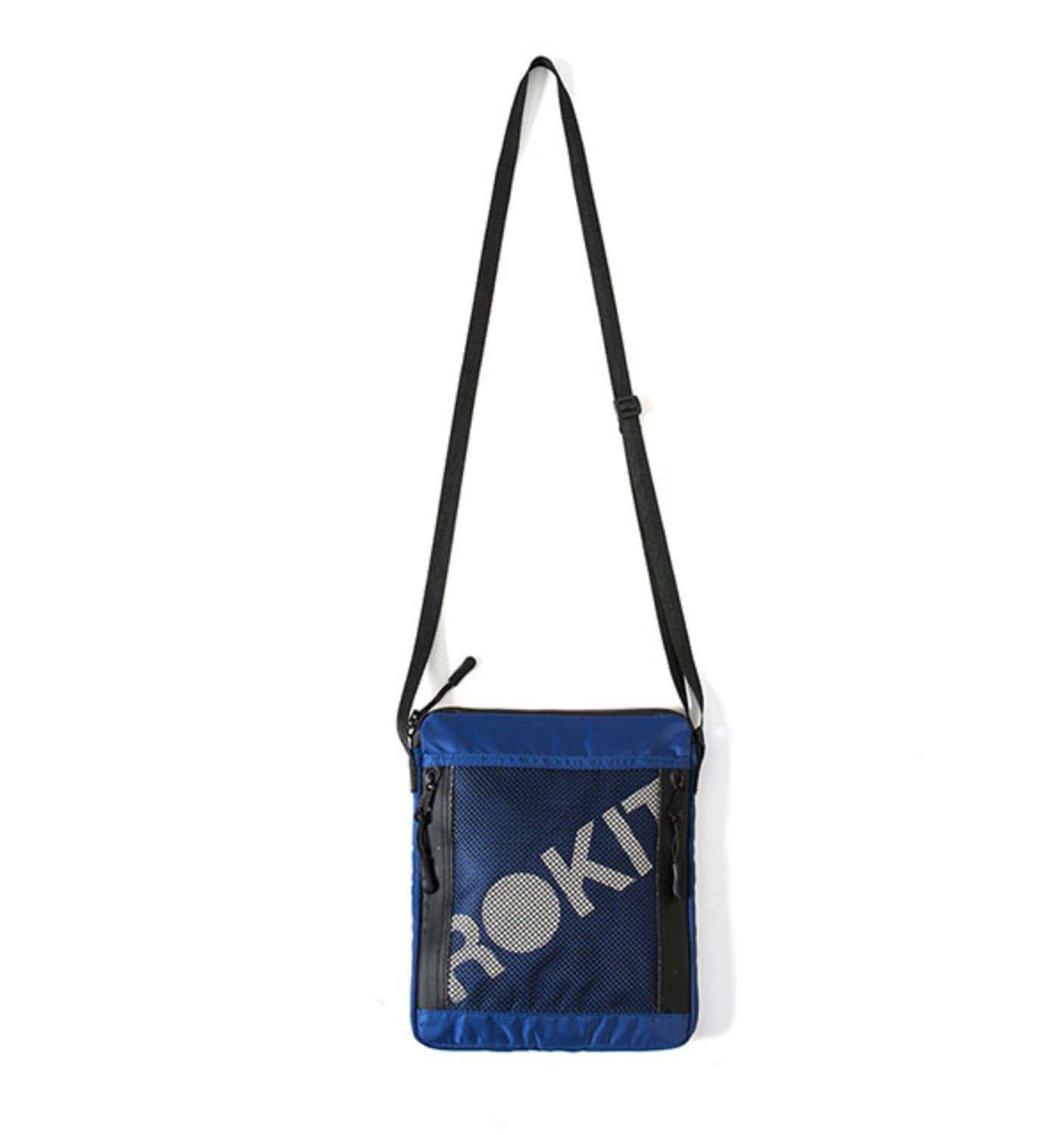 THE CUSTOMS SIDEBAG ROYAL BLUE
