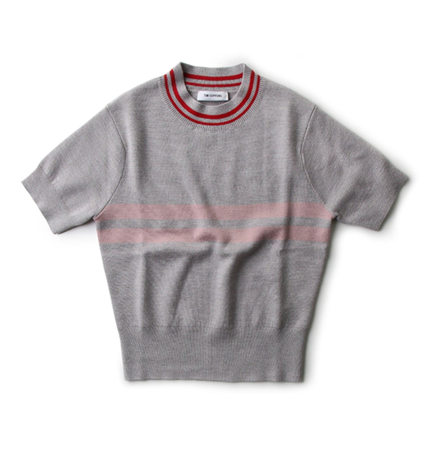 CROPPED MOCK NECK TEE(WSWF16TC03A)