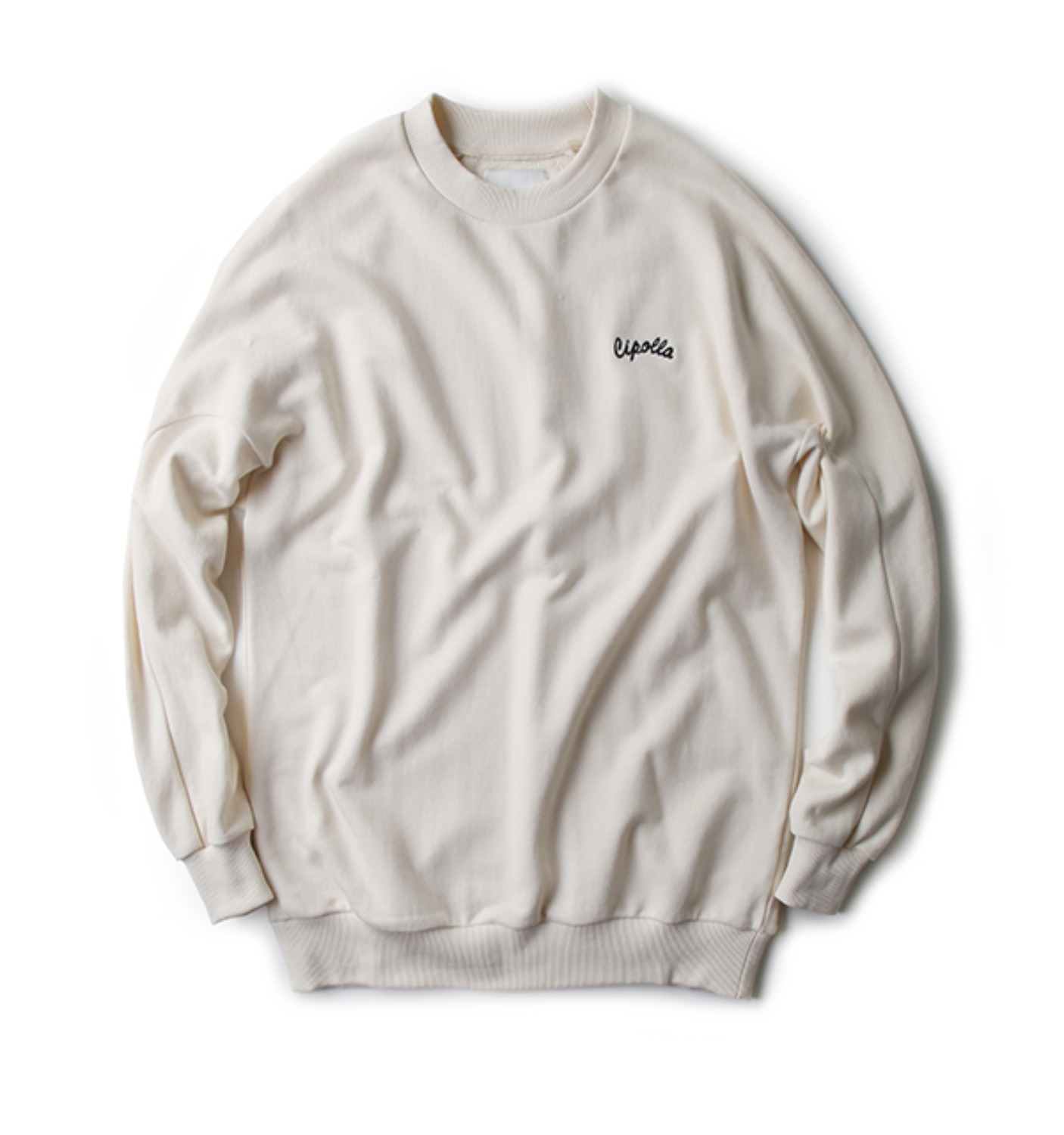 VEGETABLE SWEATSHIRT IVORY (NTS02001A)