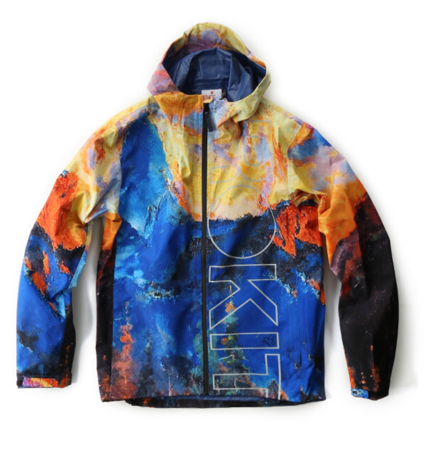 GLOBETROT ANORAK MOUNTAIN SUBLIMATION MULTI