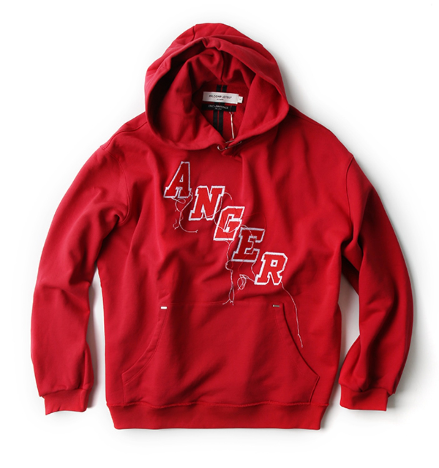 ANGER FACTORY HOODIE RED(MRCFW17084)