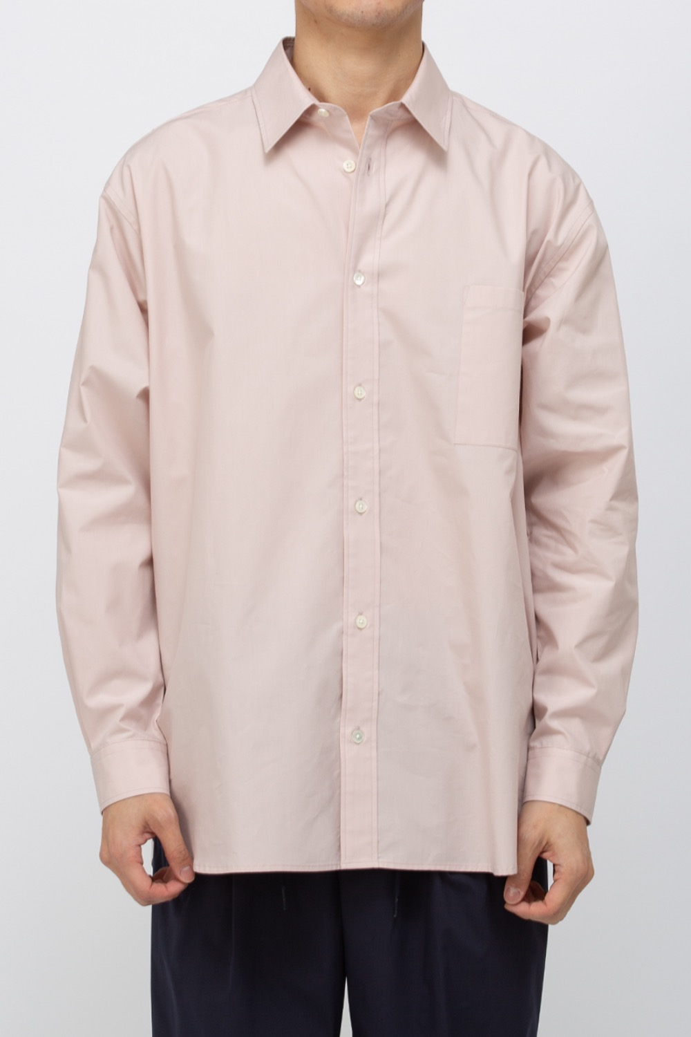 TYPEWRITER COTTON RELAXED SHIRTS CORAL