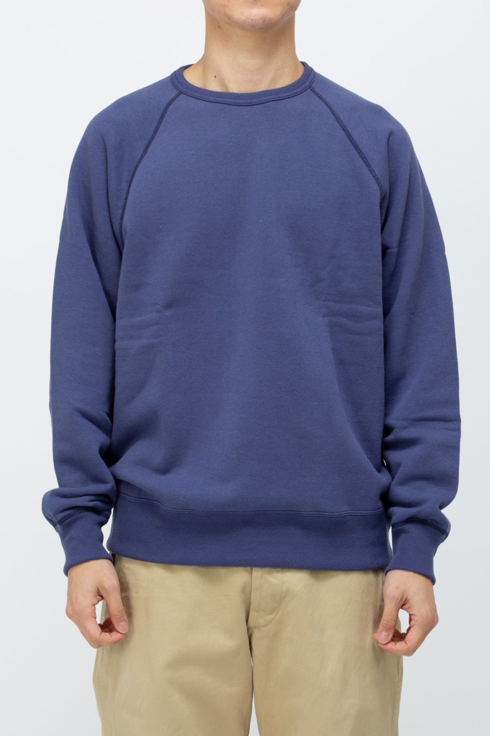 9oz. LOOPWHEEL RAGLAN SLEEVE SWEATSHIRT
