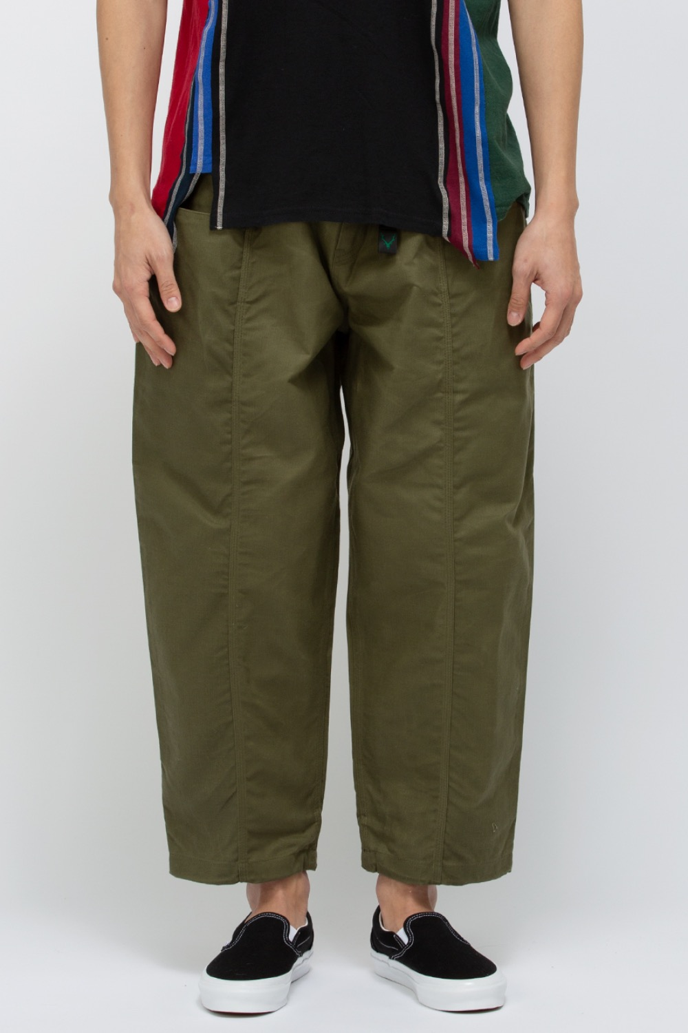 BELTED C.S. PANT - OXFORD