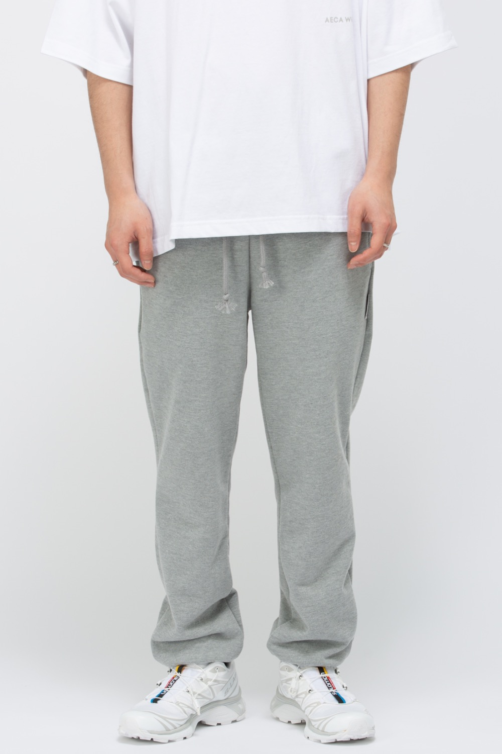 HEAVY WEIGHT CLASSIC SWEATPANTS(PREMIUM BASIC) GREY