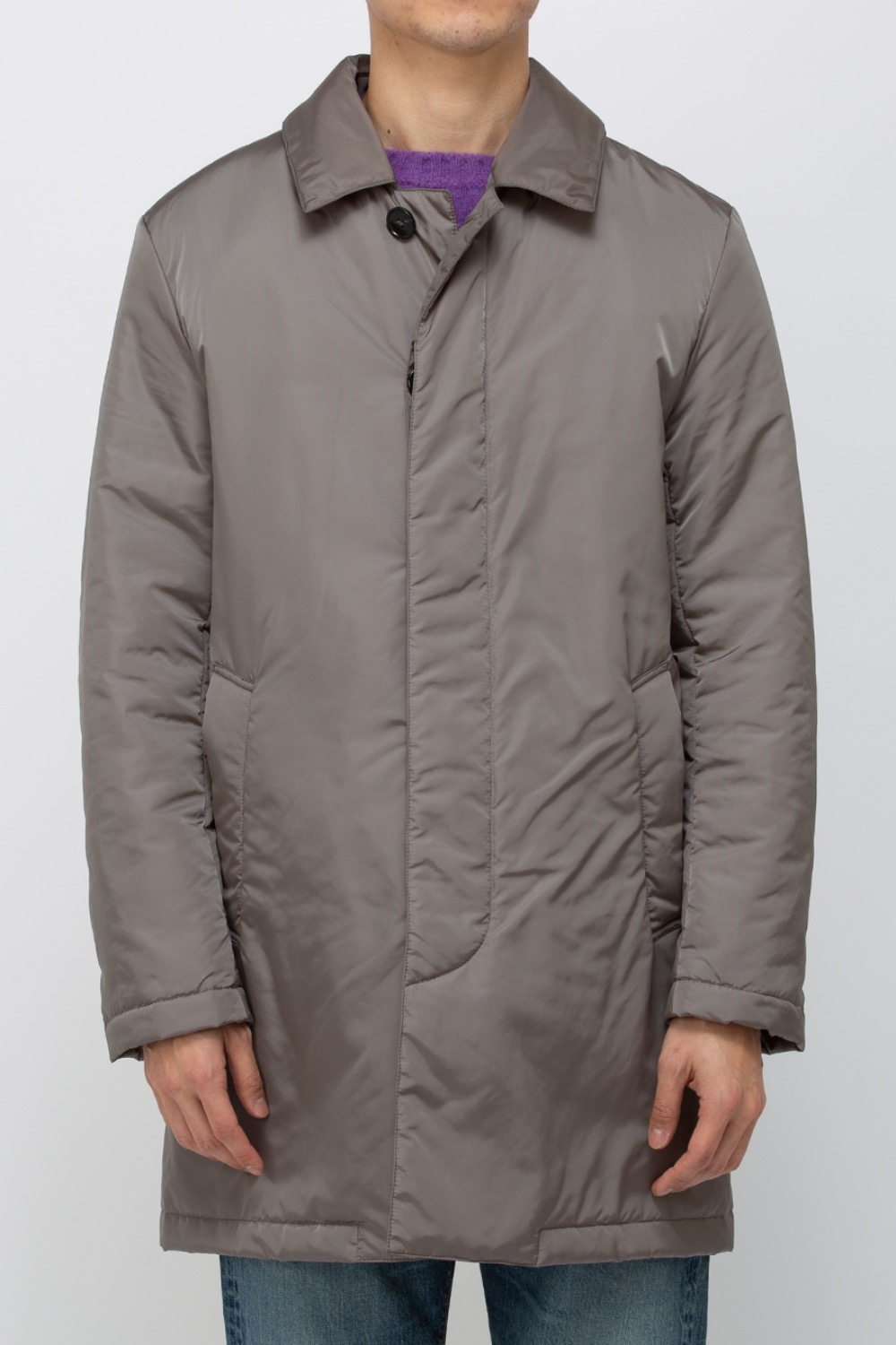 (MO 5510)IMPERIAL THERMAL SHORT COAT MID GREY
