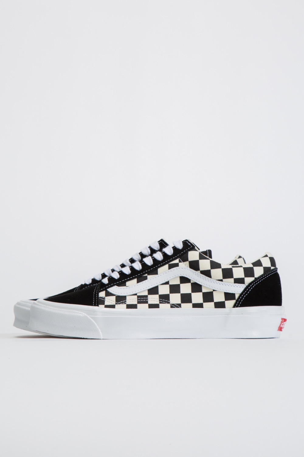 OG OLD SKOOL LX(SUEDE/CANVAS)BLACK/CHECKERBOARD