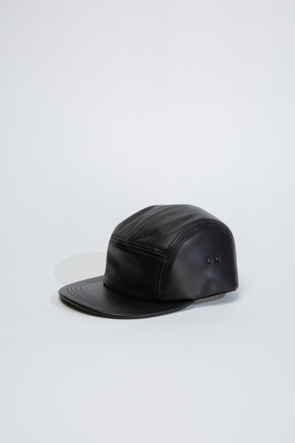 (MJ-RC-WJC)WATERPROOF JET CAP COW LEATHER BLACK