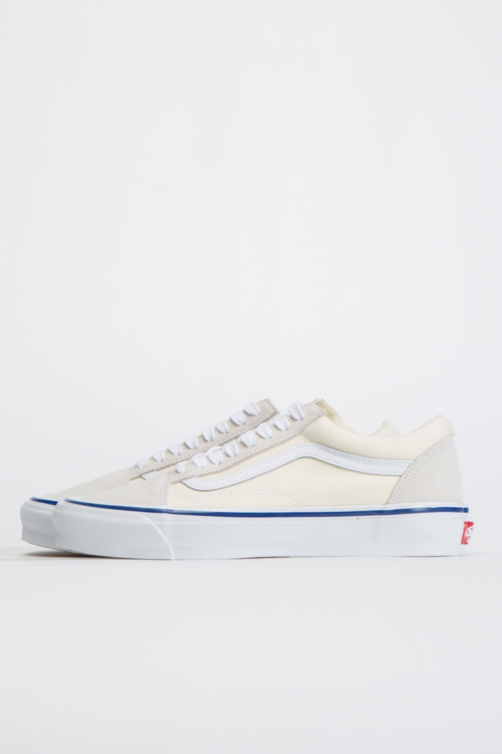 OG OLD SKOOL LX(SUEDE/CANVAS)CLASSIC WHITE/TRUE WHITE